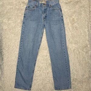 VINTAGE LEVI'S 550 RELAXED TAPERED MOM JEANS